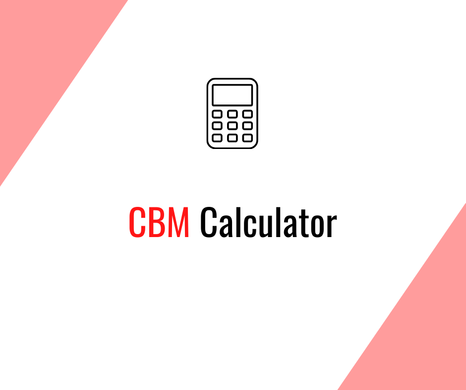 Alien Logistics CBM Calculator. CBM stands for cubic meters. It is a metric unit of volume that describes how much space your consignment takes.