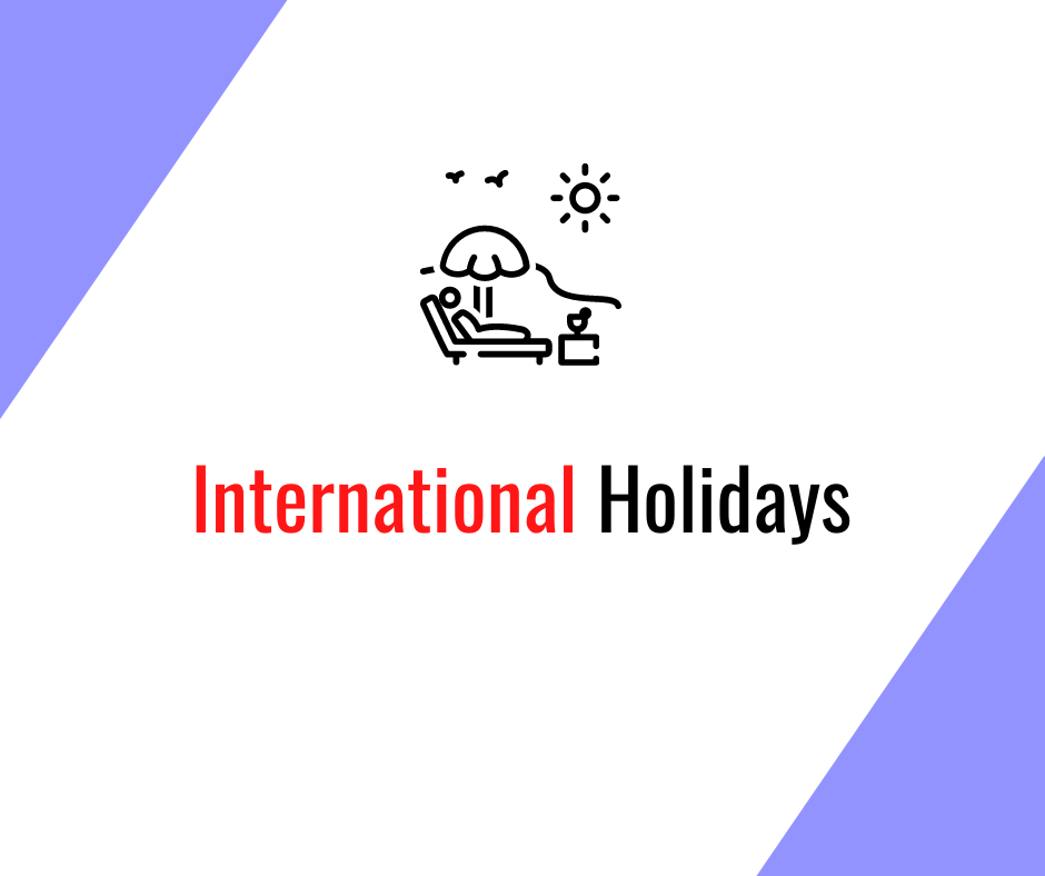Alien Logistics International Holidays - take note of long weekends for your cargo planning to avoid unnecessary storage charges & congestion