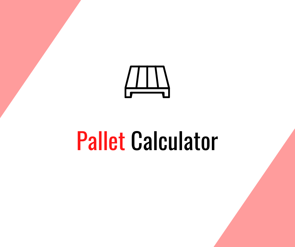 Alien Logistics Pallet Calculator. Calculate the number of packages you can put on a pallet